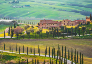 4-night stay at well-rated property in the Tuscany countryside + cheap flights from Brussels for just €100!