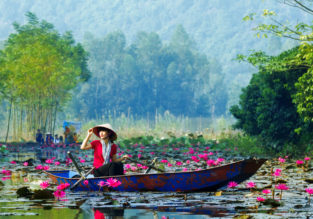 5* Cathay Pacific: Cheap peak season flights from Switzerland to Vietnam, Cambodia or Philippines from only €376!