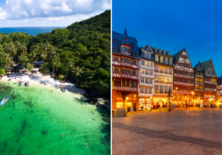 Australia to Germany from just AU$950! Add stop in Vietnam for $48 more!