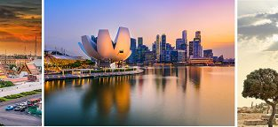 Sofia, Athens, Singapore and Bangkok in one trip from Cologne for just €394!