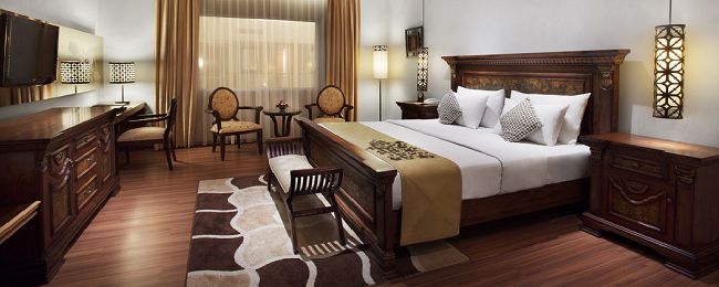 Superior double room of luxurious 5* hotel in Indonesia for only €16 per person/night!
