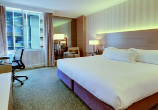 Double room in luxurious 5* Parmelia Hilton Perth, Australia for €36.50 per person!