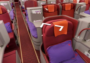 Business Class from Hong Kong to Bangkok or Taipei from $213!