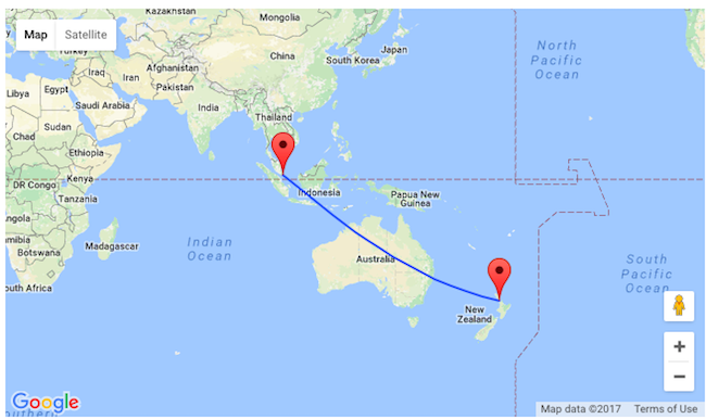 Singapore Airlines: Non-stop from Auckland to Singapore from NZ$888!