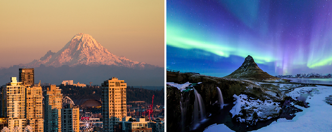 Stockholm to Seattle for just €295! Stopover in Iceland possible for €33 more!