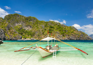 Amsterdam to the Philippines for only €355!