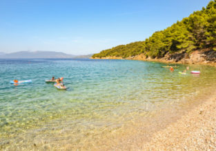7 nights at 4* beachfront resort on the Croatian coast + cheap flights from Manchester for just £141!