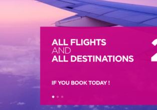 Wizz Air: 20% off all flights! Open to everybody!