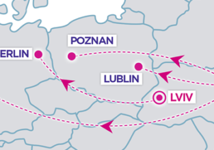 Wizz Air: New routes from Kyiv and Lviv to Germany and Poland!