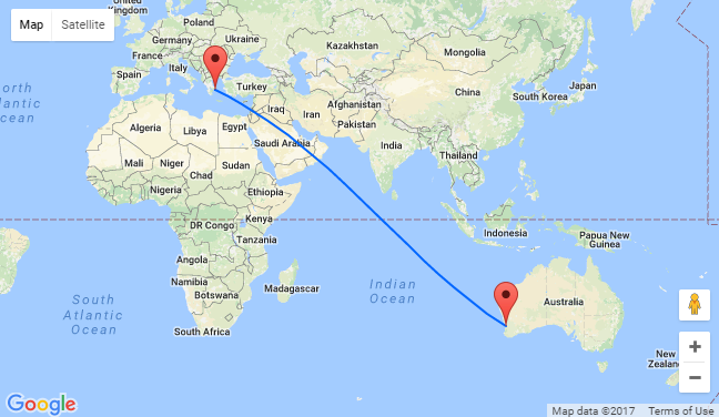 Hot Athens To Perth Australia For Only 157 One Way