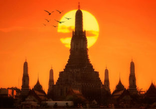 Cheap full-service flights from Frankfurt to Bangkok for only €350!