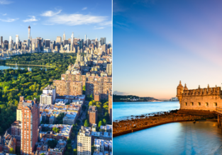 Lisbon and New York in one trip from Scandinavia from only €249!