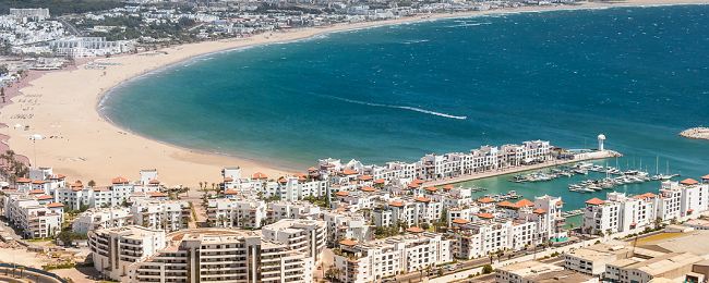 Flights from Germany + 11 night stay in well rated hotel in Agadir, Morocco for €134!