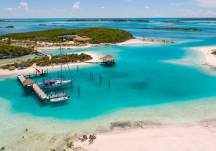 Cheap flights from Washington to Nassau, the Bahamas from only $277!