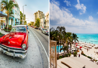 2 in 1: high season flights from Detroit to both Florida and Cuba for $268!