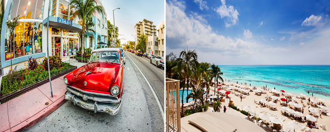From Germany to both Florida and the Cayman Islands for only €438!