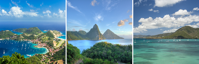 Caribbean Island Hopping: 3 islands in one trip from Paris for €457!