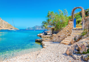 Holiday in Lesbos Island! 7 nights at top rated aparthotel & flights from Vienna for €151!