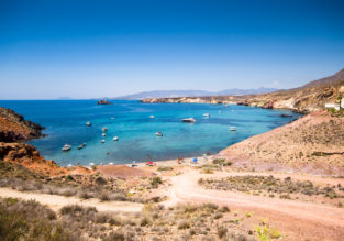 6-night stay in well-rated hotel in the Murcia region's coast + flights from London for just £170!