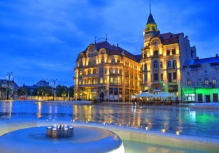 Memmingen, Germany to Oradea, Romania and vice versa for just €1!