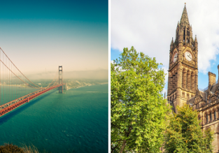 Non-stop from Manchester to San Francisco for only £299 or vice versa for $418!