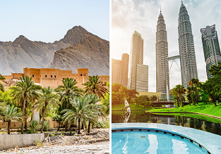 Oman, Sri Lanka, Malaysia and Thailand in one trip from Manchester for £437!
