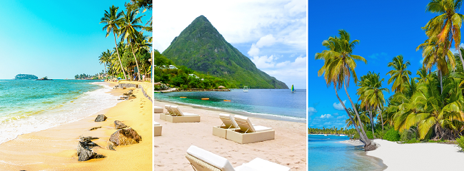 HIGH SEASON! Cheap flights from France, Germany or the Baltics to Martinique or Guadeloupe from only €352!