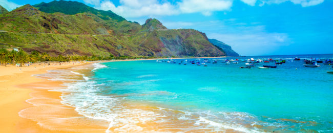 Holiday in Tenerife! 7 nights at 4* sea view hotel + flights from France for only €119!