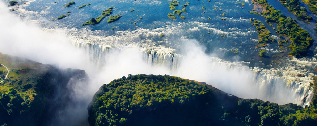 Milan or Rome to Victoria Falls, Zimbabwe from €448!
