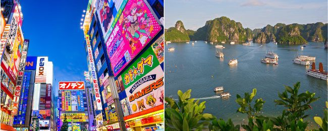 High season: Chicago to Vietnam from $513! 2 in 1 with Tokyo from $527!