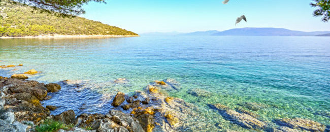 7-night stay in top-rated apartment on the Croatian coast + flights from London for just £185!