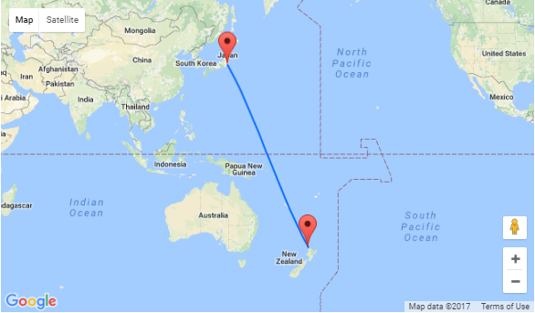 Auckland to Tokyo, Japan for NZ$771!