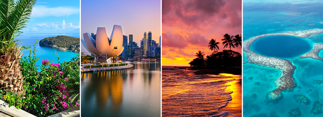 Summer Round-The-World trip from the UK for only £968!