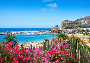 Half Board 7 nights at top rated 4* seafront resort in Gran Canaria + flights from Germany (4 cities) from €404!