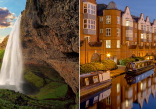 2 in 1: Edmonton to Iceland and Birmingham, UK for only C$433/$315!