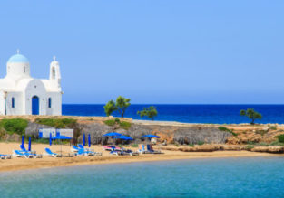 Cheap flights from London to Cyprus from only £18!