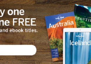 Lonely Planet SALE: Buy one, get one FREE!