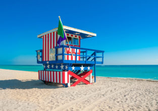 Non-stop from Brussels to Miami, Florida for only €299!
