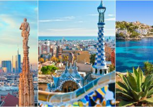 SUMMER: Milan, Barcelona and Mallorca in one trip from London from £70!