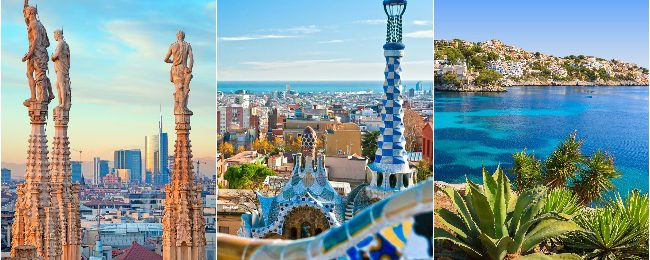 MEGA TRIP from Berlin for €129! Budapest, Israel, Milan, Barcelona, Tenerife, Porto and Brussels!