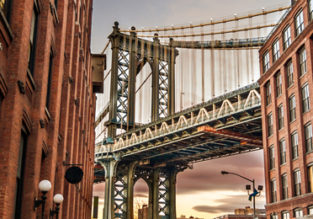 Prague to New York for only €348!