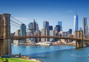 SUMMER: Open-jaw from Jersey to New York, returning to London for only £208!