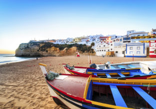 Sunny break in Algarve! 4 nights at well-rated aparthotel + cheap flights from Berlin for just €37!
