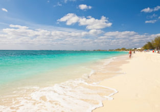 Non-stop from Miami to the Cayman Islands for $61 one-way or $198 return! (checked bag included)