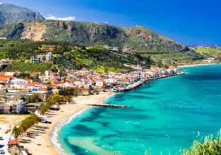Summer holidays in Crete! 7 nights at well-rated aparthotel + cheap flights from Switzerland for just €150!