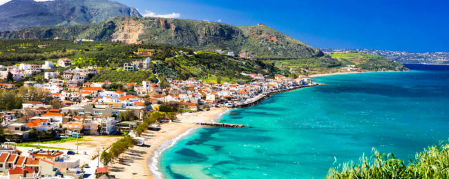 SPRING: 7 nights at top rated apartment hotel in Crete + flights from London for £105!
