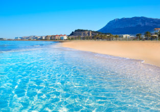 4-night stay in beachfront apartment on Costa Blanca + flights from Oslo for only €151!