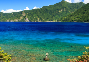 Paris to exotic Dominica returning from Martinique for €294! (+ 19hr stop in Guadeloupe)