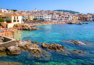 AUGUST! Cheap non-stop flights to Costa Brava, Spain from Scotland for just £54!