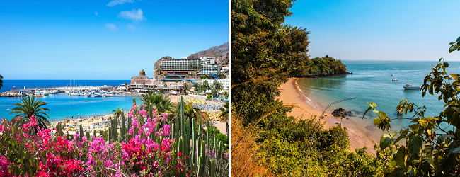 Visit Gran Canaria and Gambia in one trip from Birmingham, UK for only £254!